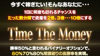 永田直吉氏のTime The Money