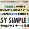 EASY SIMPLE FX 鈴木康気