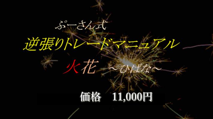 ぷーさん式FX逆張りトレードマニュアル 火花~ひばな~
