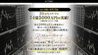 持田有紀子 3次元ベータトレード
